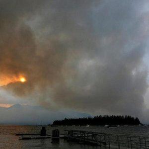В Йелоустоун избухнаха горски пожари