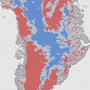 Топенето на леда в Гренландия може да повиши нивото на световния океан с 7 метра