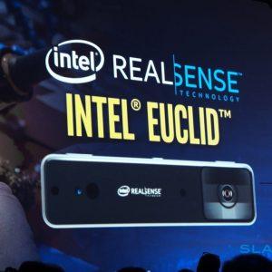 Intel Euclid е малък компютър с камера RealSense