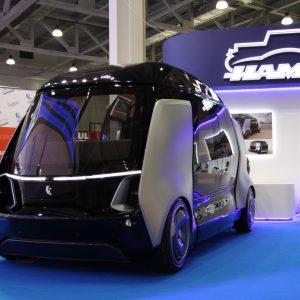 КАМАЗ представи прототип на безпилотен микробус