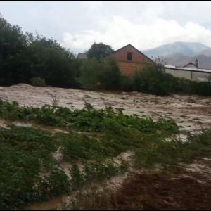 Силно наводнение в Киргизия