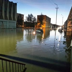 Наводнение в Магаданска област