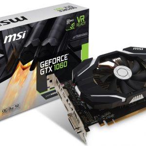 MSI пусна нови GeForce GTX 1060 модели с 3 и 6 GB памет