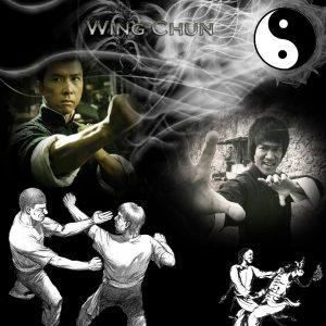 Тренировка със затворени очи на Винг Чун Майстори