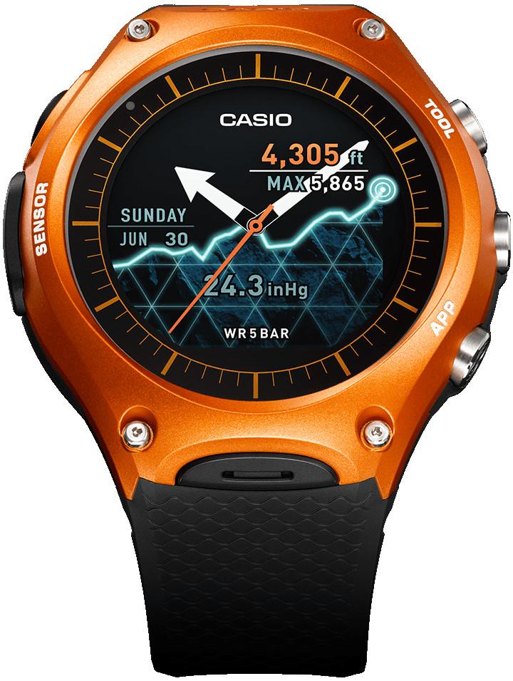 Casio smartwatch wsd-f10
