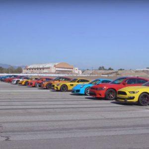 Великата гонка :  Състезание със супер автомобили на ¼ миля