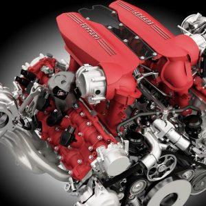 Двигател Ferrari V8: видео