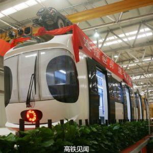 В Китай е създаден първият въздушен трамвай