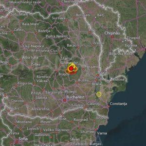 Земетресение с магнитуд 5,6 удари Вранча , Румъния