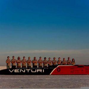 Нов световен рекорд на електромобил за скорост