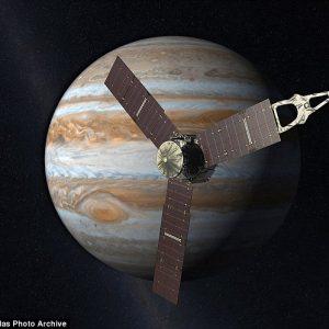 """Да разгледаме от близо Юпитер през очите на """"Juno"""""""