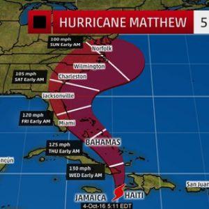 """Евакуират 2 милиона души в Съединените щати и Куба заради урагана """"Матей"""""""