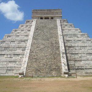Мексикански учени са открили пирамида в рамките на друга пирамида в свещения град на маите