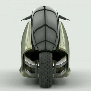 Първият в света мотоциклет, който не пада!
